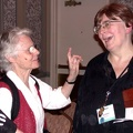 17 Carol Emshwiller and Jeanne Gomoll Share a Moment